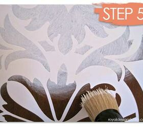 Lovely How To Stencil Wood Furniture With Chalk Paint Decorative Paint, Painted  Furniture, Painting A