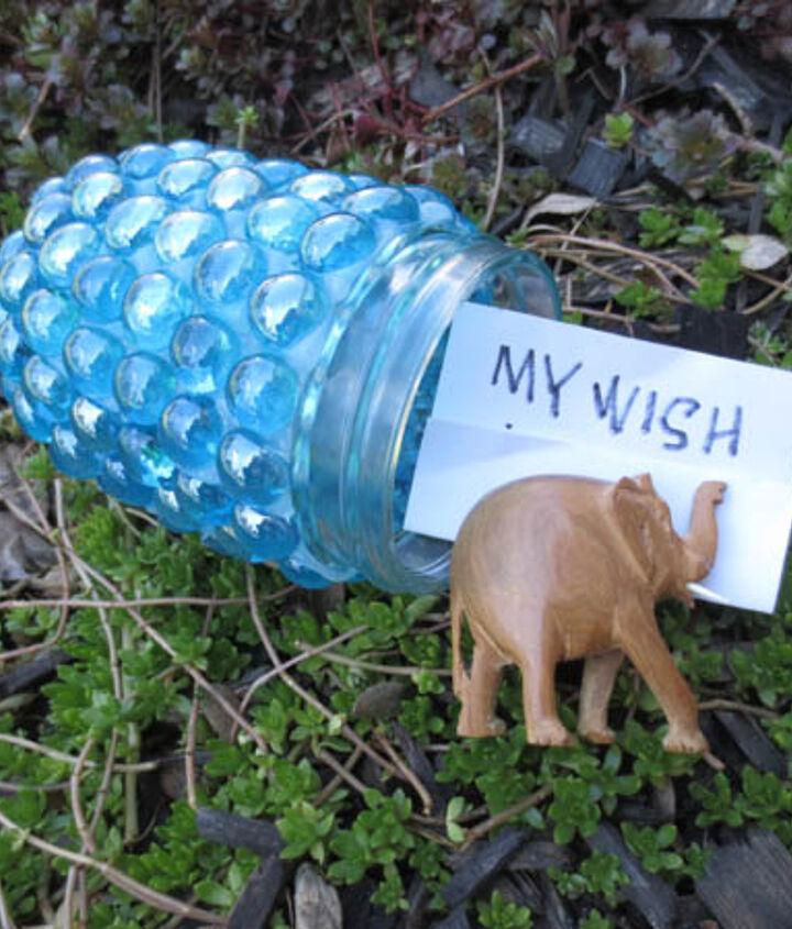 how to make garden treasure jars, crafts