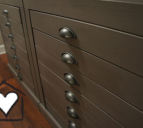 Final Product Looks Just Like Many Slim Drawers From The Vintage Printers  Cabinets