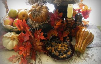 the harvest table, home decor, seasonal holiday decor