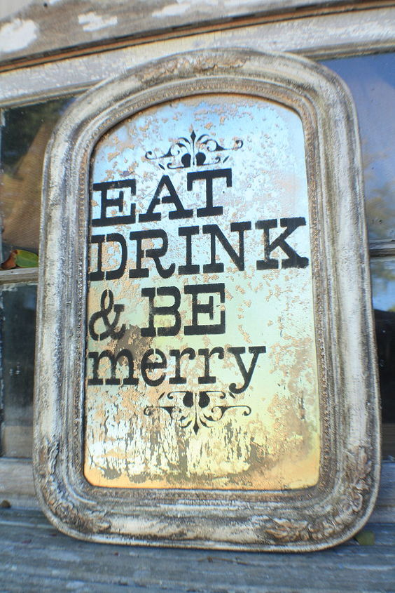 Eat, drink and be merry kitchen sign