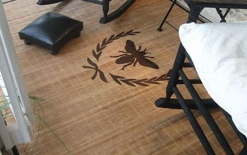 front porch rug, flooring, painting, Finished product