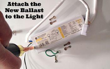 An Easy Fluorescent Light Fix
