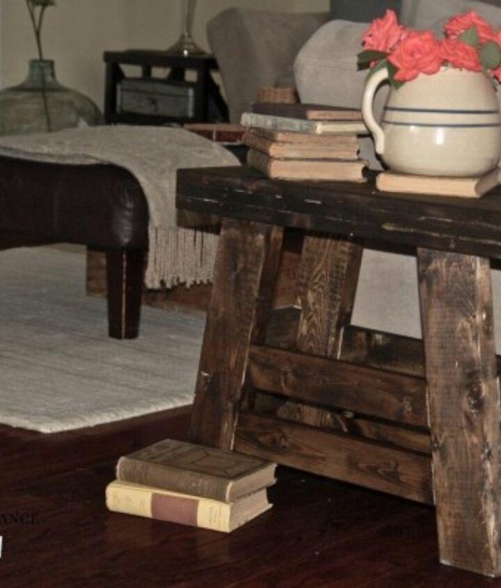 Pottery Barn inspired stool made using the Kreg Jig