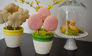 edible easter centerpiece, easter decorations, seasonal holiday d cor, Sweet little Easter centerpieces