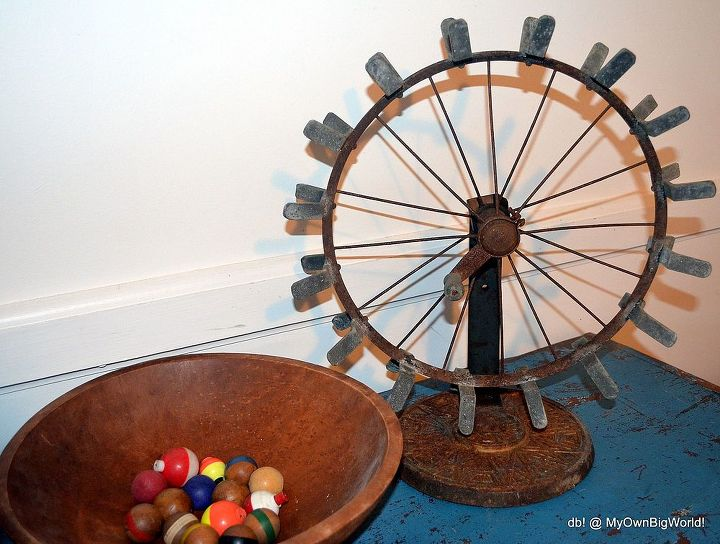 How cool is this wheel thingy?  But what is it?