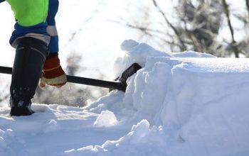 The Safest Way to Shovel Snow