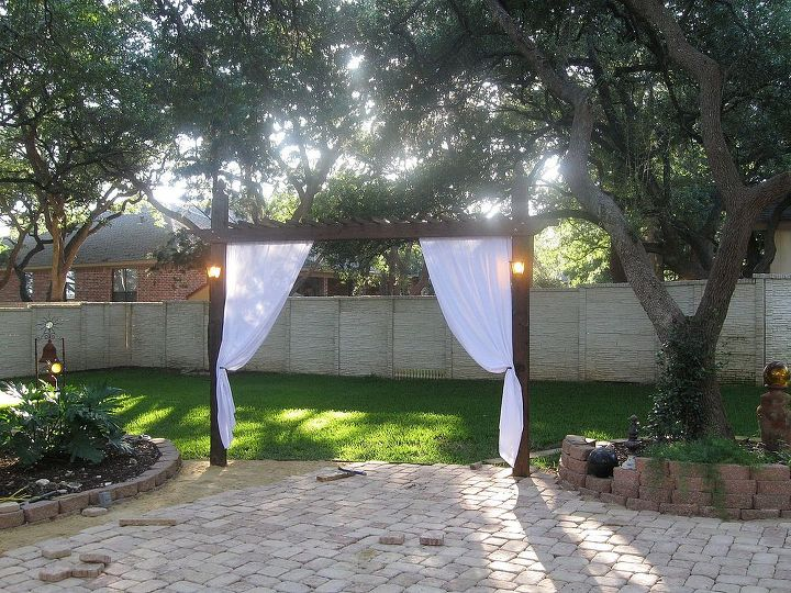 extend outdoor living area create privacy from neighbors with arbors, gardening, landscape, outdoor living