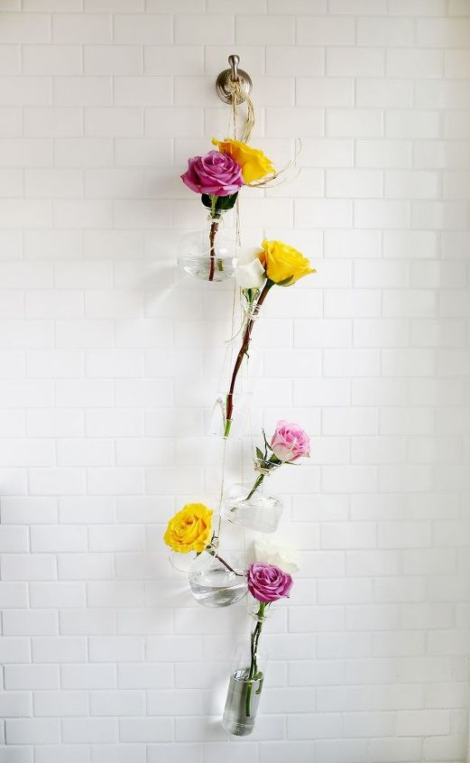 how to make and hang a hanging vase, crafts, home decor