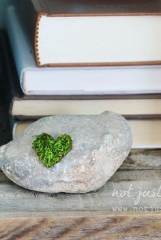 simple moss art perfect for spring, crafts, gardening, seasonal holiday decor