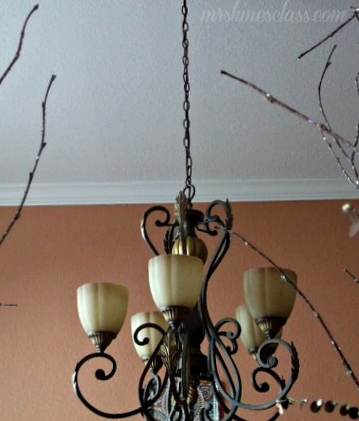 muted terra-cotta walls warm the space.  I want to paint the ceiling....any color suggestions?