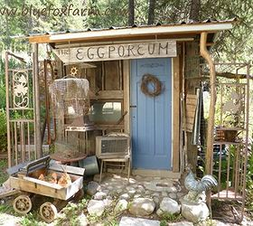 Beau The Eclectic Eggporeum Was Featured Here; Http://www.hometalk.com