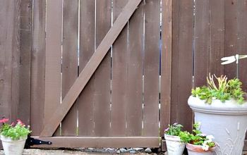 Convert an Existing Fence Into a Gate