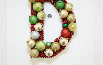 Monogram Ornament Wreath