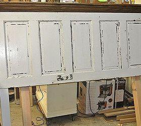 Ordinaire 5 Panel 90 Yr Old Door Converted Into A King Size Door Headboard, Doors,