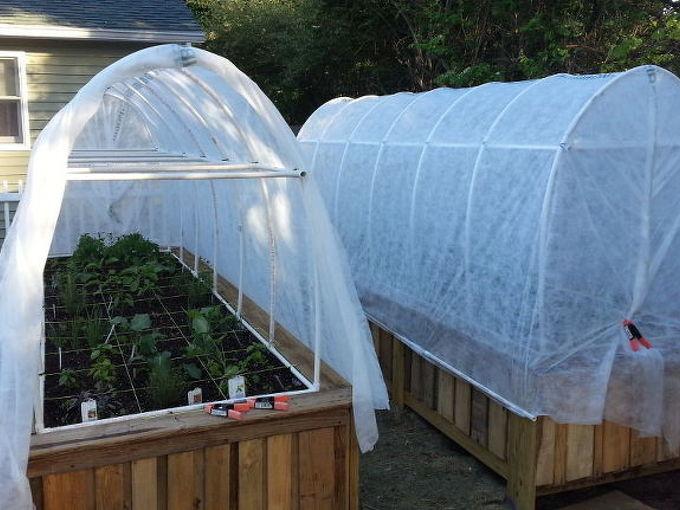 raised bed gardens from pallets, gardening, pallet, raised garden beds