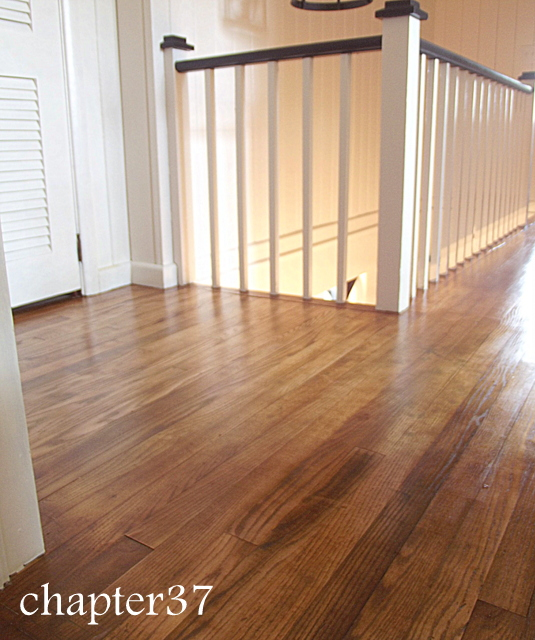Clean and fresh...floors are so important to making a space complete!