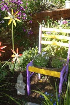 another quirky addition to my garden, flowers, gardening, repurposing upcycling, another additon to my garden