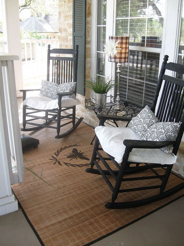 front porch rug, flooring, painting