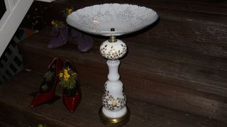 q ideas for a birdbath base no top, crafts, outdoor living, repurposing upcycling, I made this one