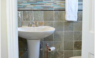 beachy coastal bathrom makeover, bathroom ideas, home decor