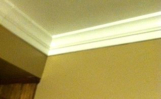 foam crown moulding it so easy completed job pictures, kitchen design
