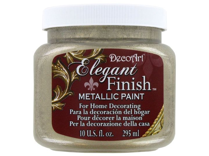I wanted a shimmery base coat, so I applied this to the wall.