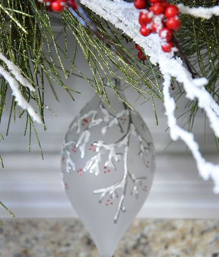 white twig and holly berry woodland mantel, seasonal holiday d cor, wreaths