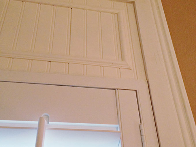 how to add trim to make your shutters reach the ceiling, diy, home decor, how to, living room ideas, windows, You can find all of the details on how we did it on the blog It was easy peasy