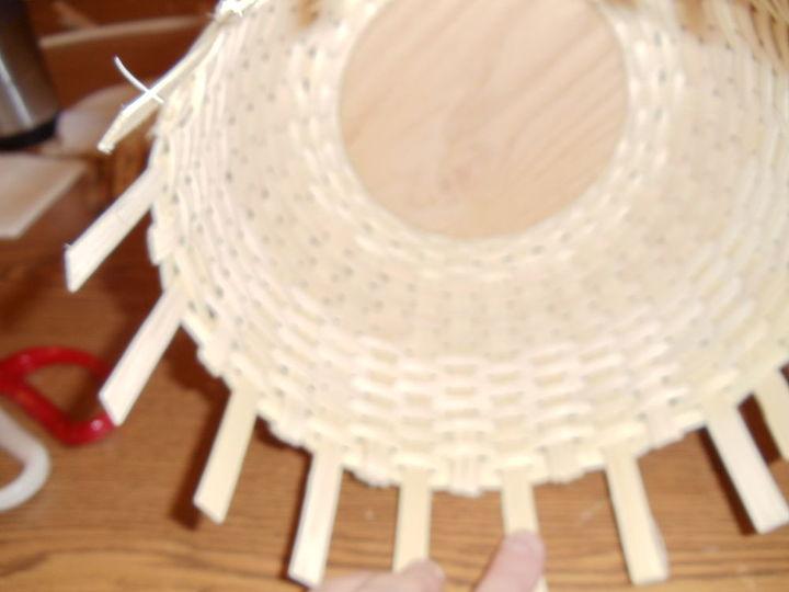 My basket from inside