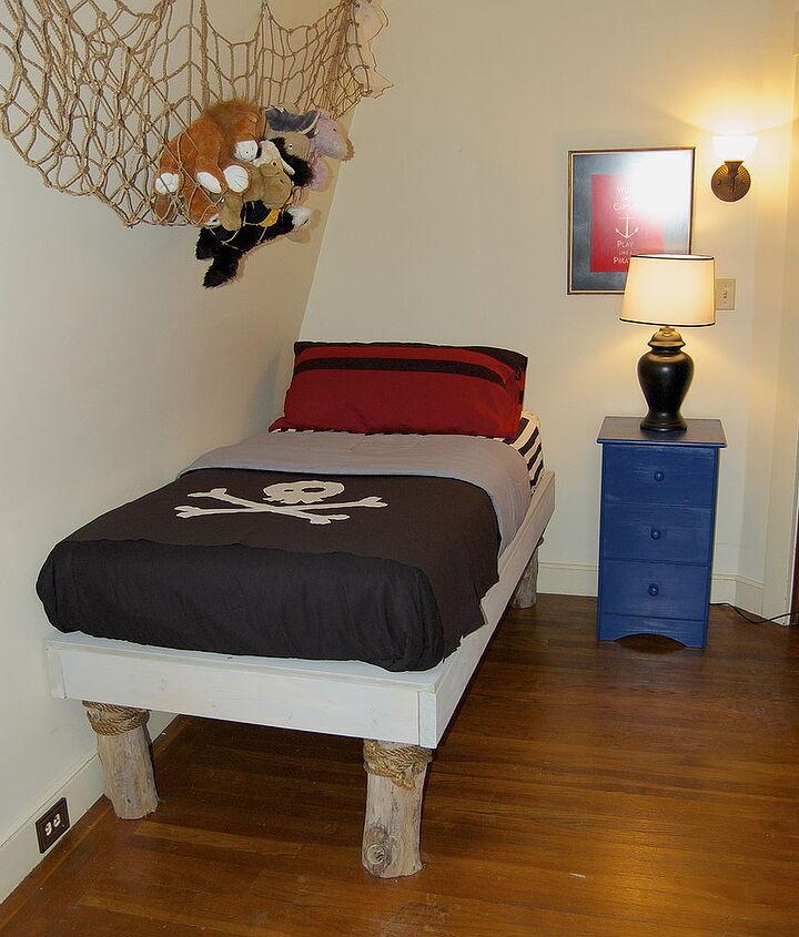 diy pirate bedroom redo, bedroom ideas, home decor