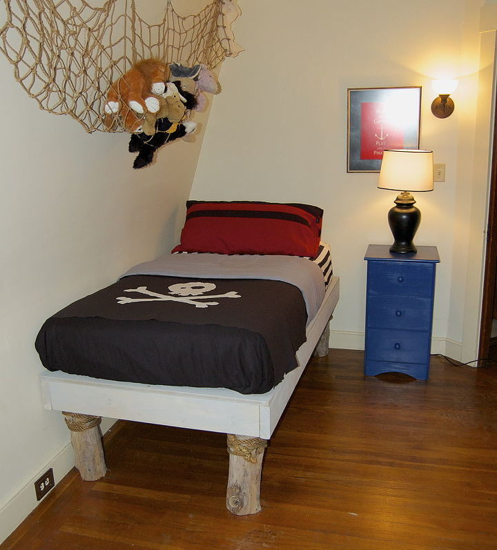 diy pirate bedroom redo, bedroom ideas, home decor