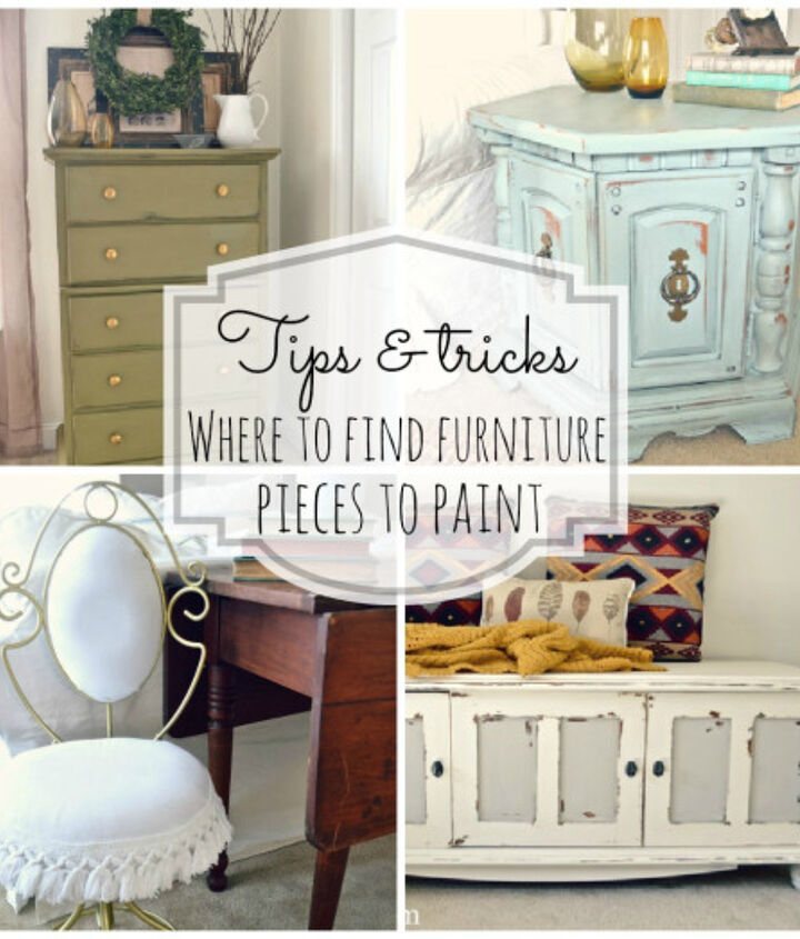 Tips and tricks on where to find furniture pieces