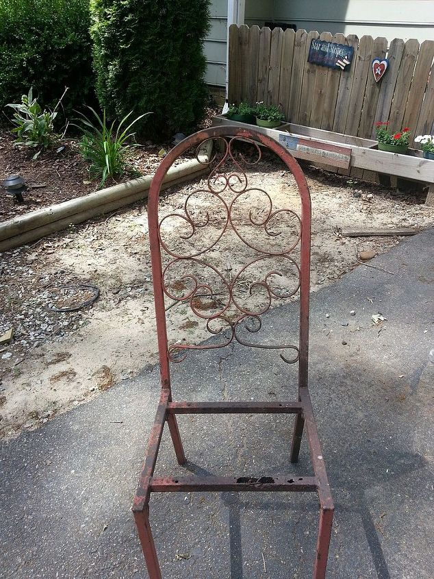 hubby said do something with this or else, flowers, gardening, repurposing upcycling