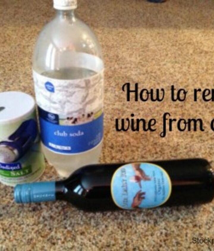 How to remove wine from carpet
