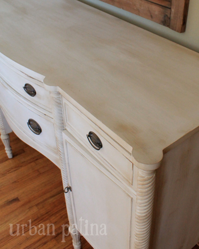 antique buffet old ochre coco, chalk paint, painted furniture