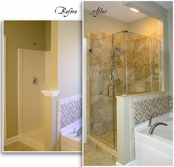 my new master shower renovation, bathroom ideas, home improvement, plumbing, tiling