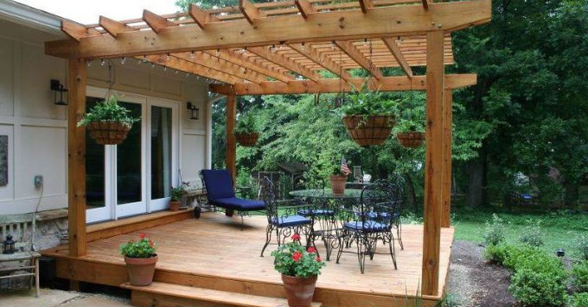 I Am Looking For Someone To Build Me A Pergola Hometalk