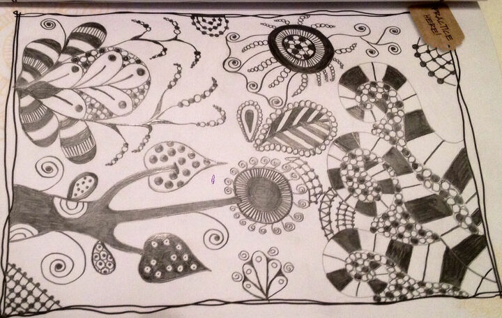 zentangle, crafts