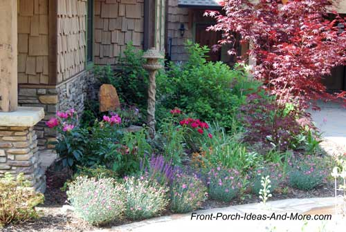 Landscaping around your porch hometalk for Plants for landscaping around house