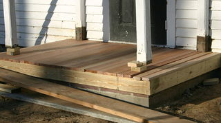 is it possible to have a deck smooth enough to dance pivot amp slide that can, decks, Still in process of wrapping and installing deck boards Here you can get idea of edge and type of boards we used