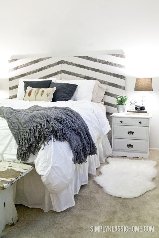 master bedroom mini makeover and a diy headboard, bedroom ideas, home decor, repurposing upcycling