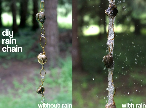 diy rain chain, crafts, outdoor living, DIY Rain chain