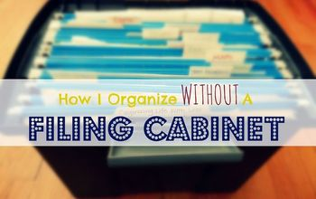 How I Organize Without Using A File Cabinet