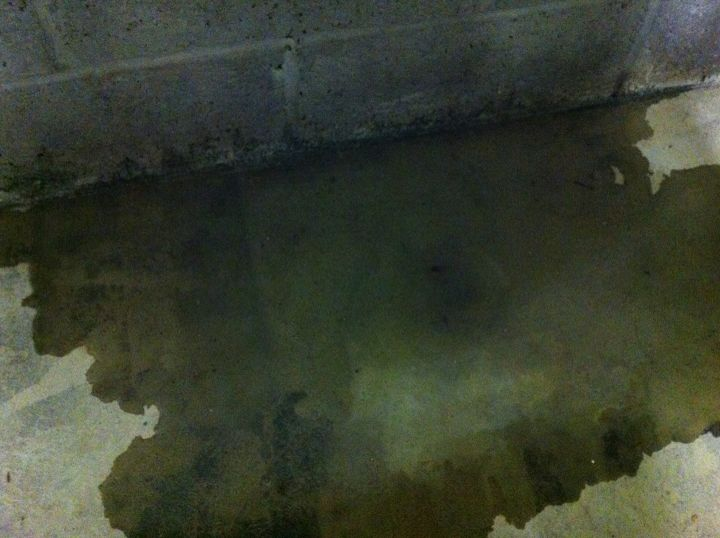 q anything i can do to fix this leak, concrete masonry, home maintenance repairs