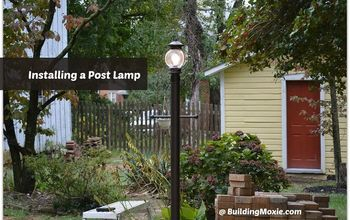 Installing a Post Lamp
