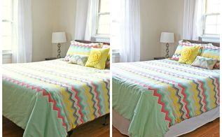 adding layers one bed skirt at a time, bedroom ideas, home decor, reupholster