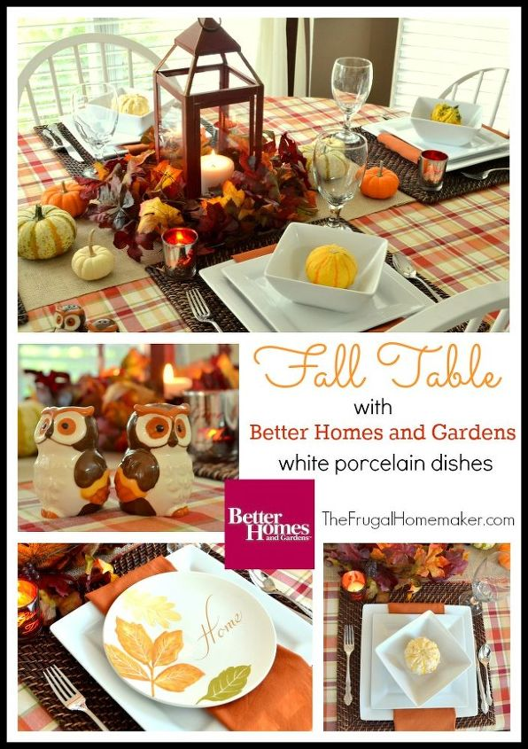 my fall blessings tablescape, seasonal holiday d cor, thanksgiving decorations