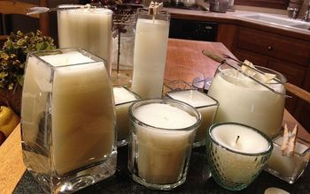 Easy, Inexpensive Candle Making