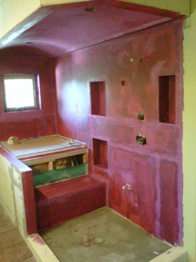 steam shower and tub, bathroom ideas, home improvement